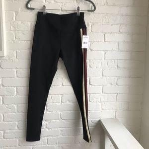New w Tags Free People black leggings Stripe Pants